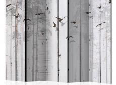 Paraván - Birds on Boards II [Room Dividers]